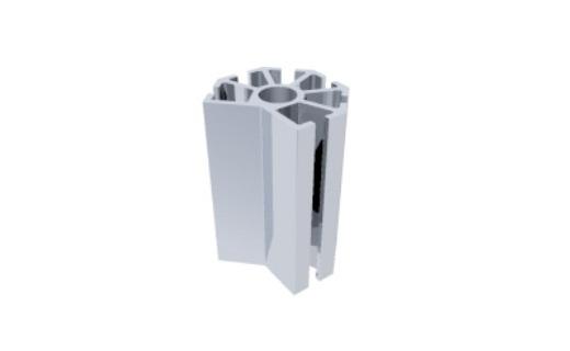 C160 montante alumínio montagem stands estruturas perfil octanorm feiras