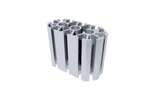 perfil alumínio montante montagem stands estruturas octanorm feiras
