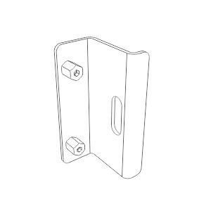 F2220 contra fechadura porta blindex stands fachada spider alumínio