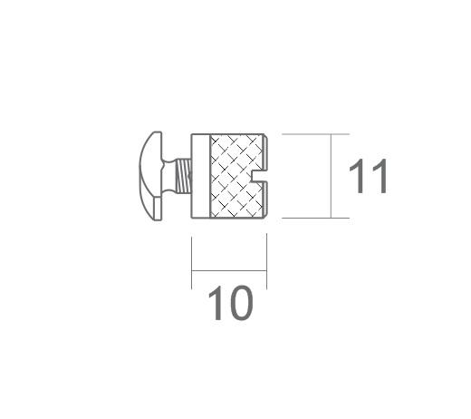 presilha perfil alumínio esticar tecido tensionar lona stands divisórias painéis