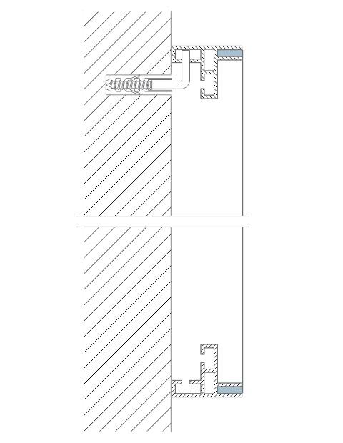 perfil alumínio esticar tecido tensionar lona dresswall stands divisórias painéis