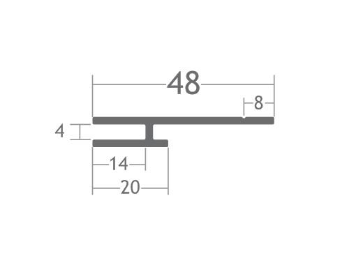 perfil alumínio esticar tecido tensionar lona stands divisórias painéis