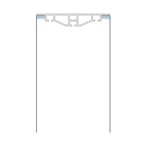 corte perfis painel exalumen backlight backlit de tecido dresswall backdrop aluminio