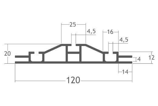 perfil alumínio backilight de tecido tensionar lona stands divisórias painéis