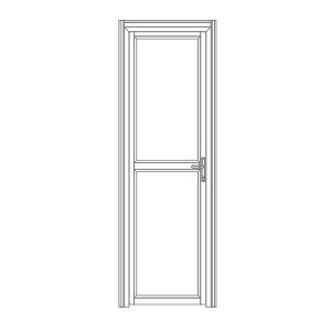 P103 porta de alumíno para stands cabines boxes camarins