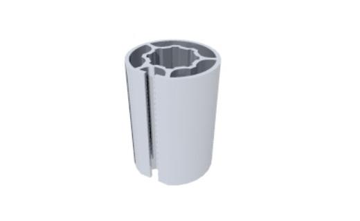 R1100 montante alumínio redondo coluna paredes stands estruturas