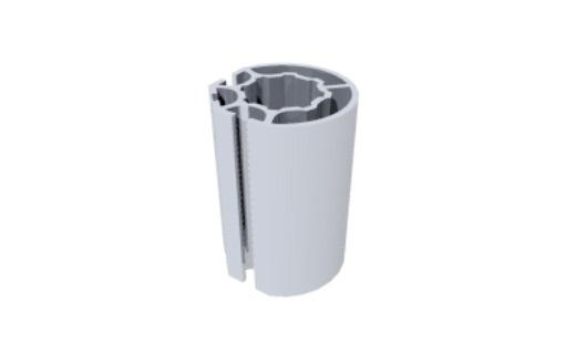 R1300 montante alumínio redondo coluna paredes stands estruturas