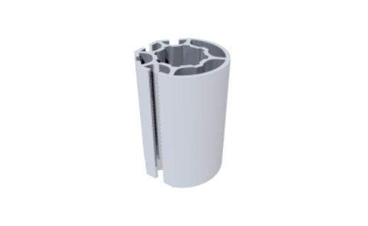 R1410 montante alumínio redondo coluna paredes stands estruturas