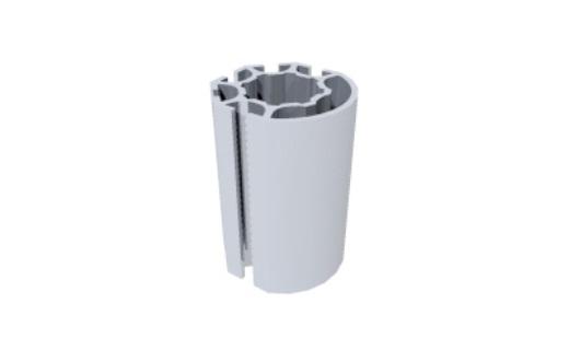 R1500 montante alumínio redondo coluna paredes stands estruturas