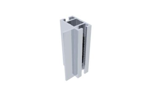 T280A perfil travessa alumínio montagem stands estruturas octanorm