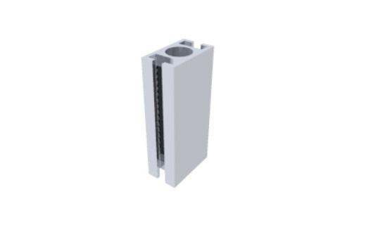T280 perfil travessa alumínio montagem stands estruturas octanorm 28mm