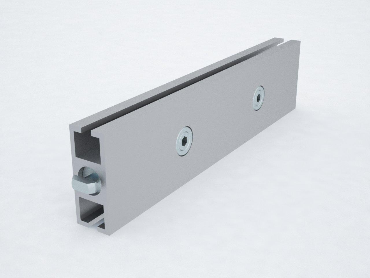T400 40mm perfil travessa alumínio montagem stands estruturas octanorm