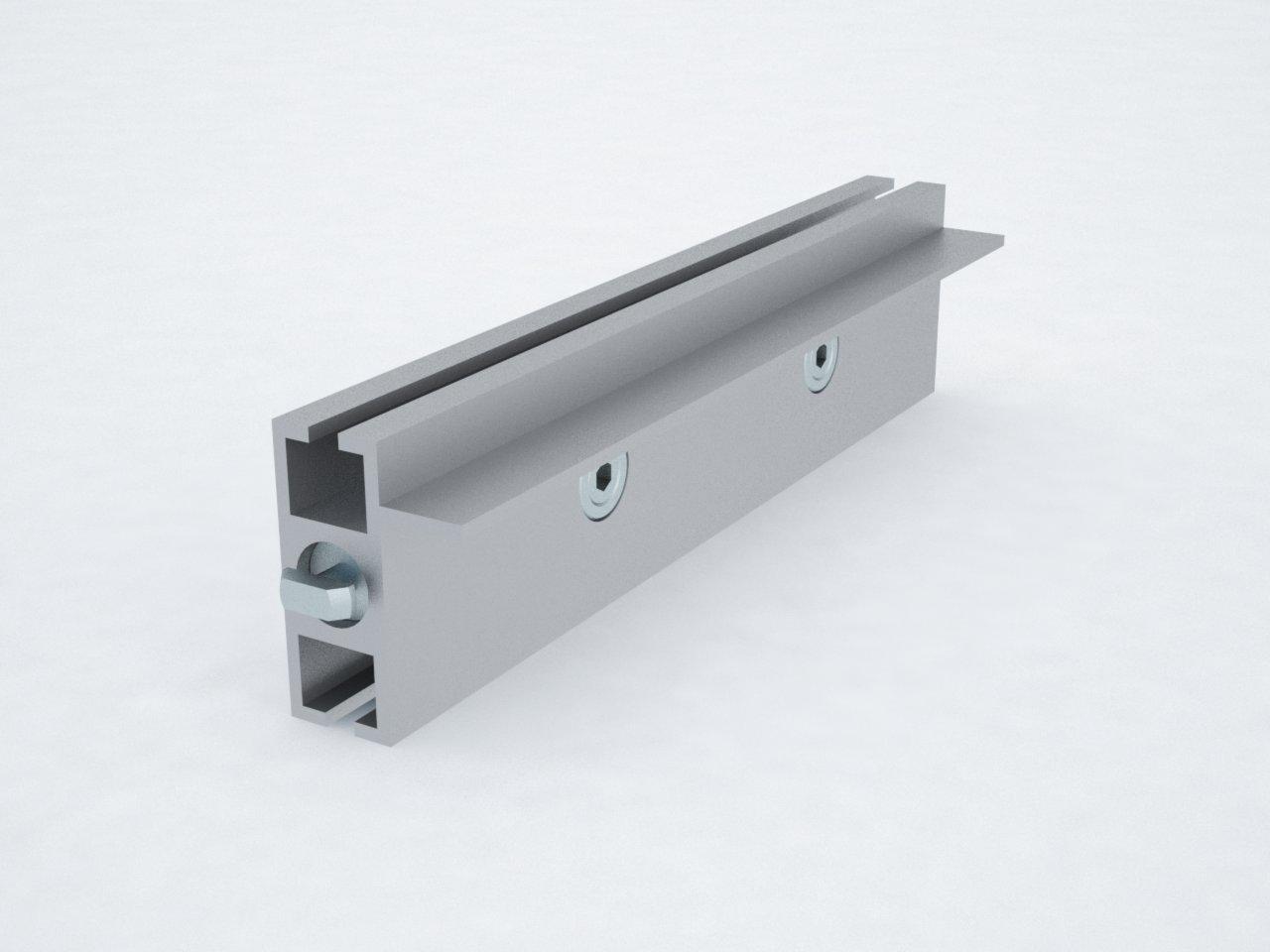 T400A perfil travessa alumínio montagem stands estruturas octanorm