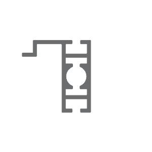 T400C perfil travessa alumínio montagem stands estruturas octanorm