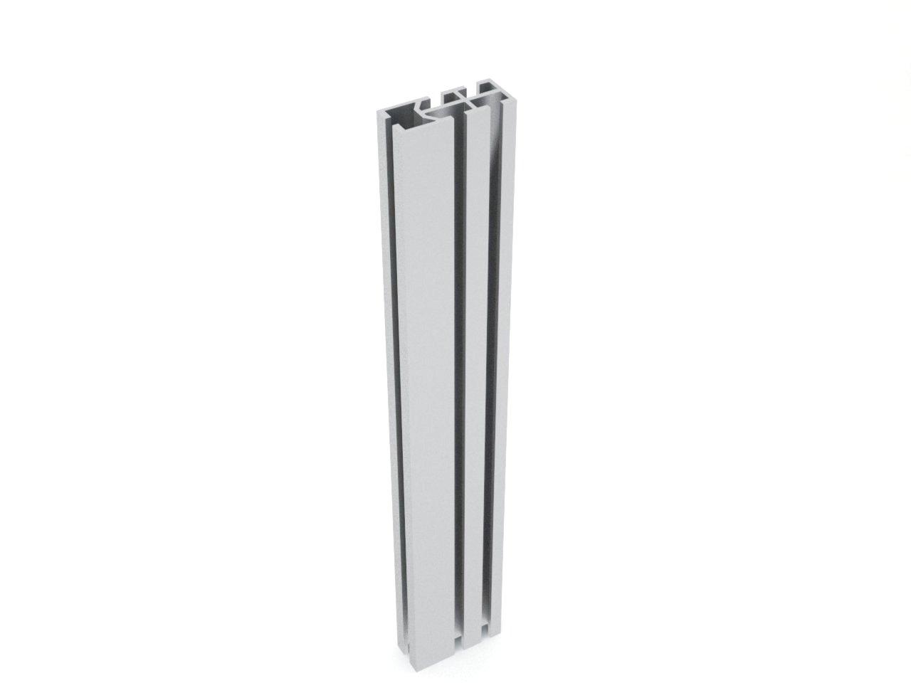 perfil de alumínio para montagem de estrutura stands lojas divisórias octanorm
