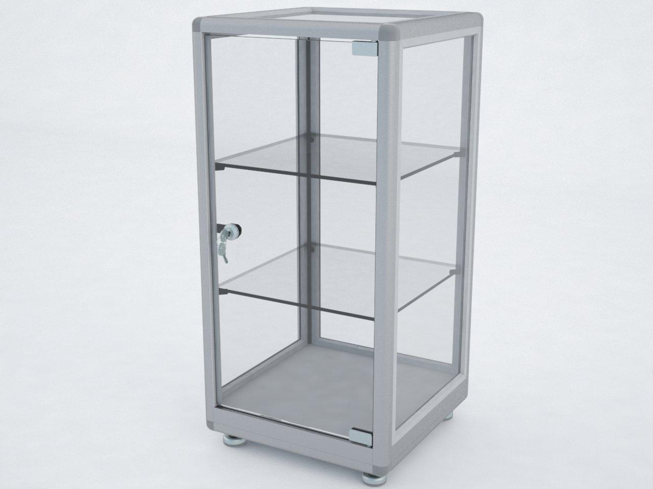 Exemplo de estrutura para vitrine com o perfil C100