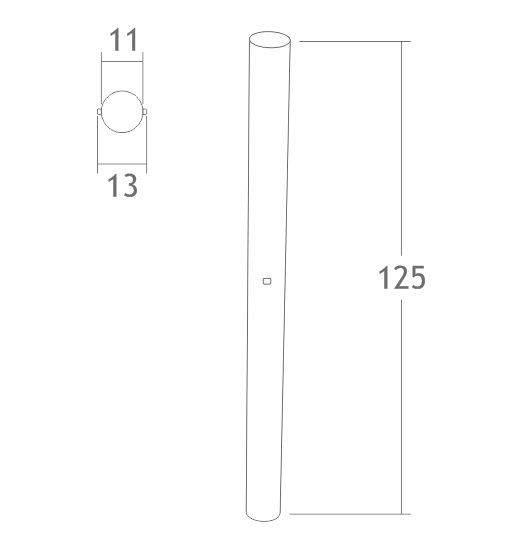 C183 pino de emenda montante alumínio montagem stands