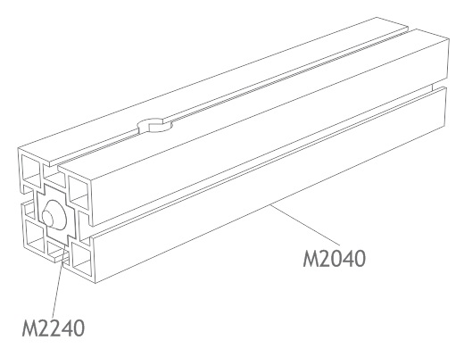 perfil alumínio quadrado 40mm montagem estrutura octanorm stands eventos