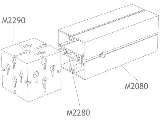 perfil alumínio quadrado 80mm montagem estrutura octanorm stands eventos maxima light