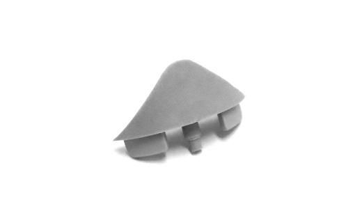 R1020 terminal lateral acabamento estrutura perfis alumínio