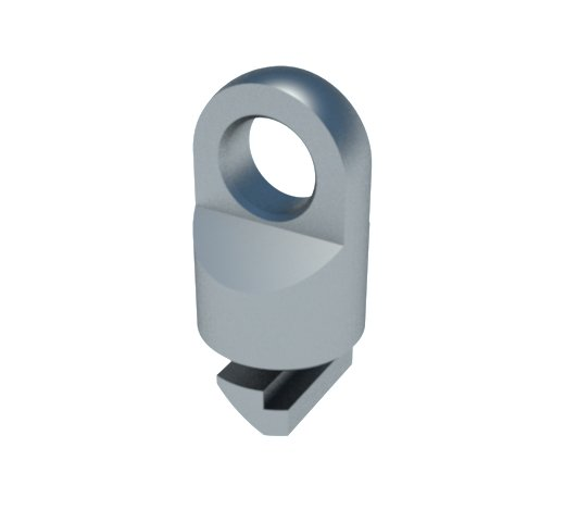 olhal suspensão estrutura alumínio placa sinalização